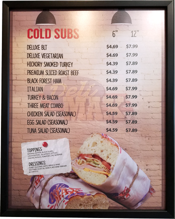 Cold Subs
